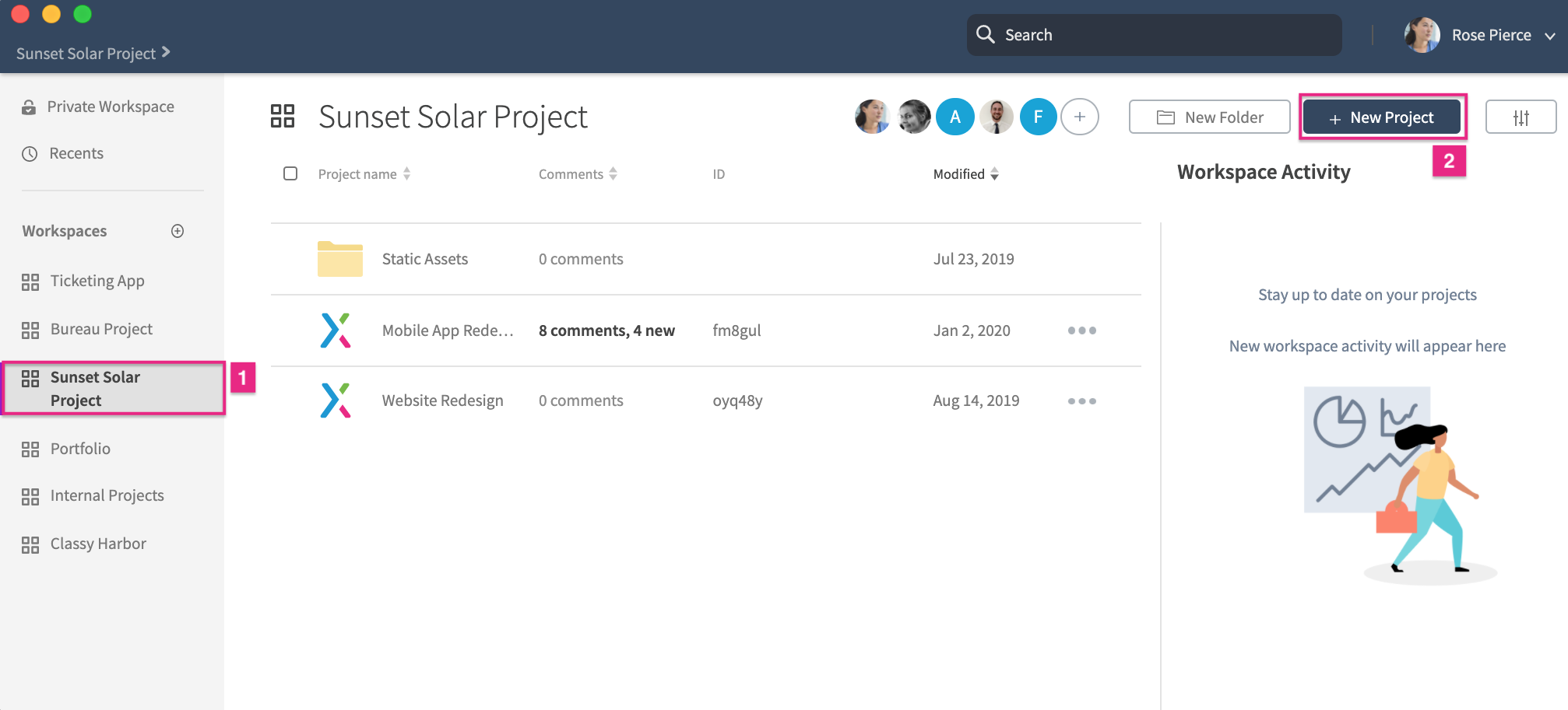 Axure RP Projects on Axure Cloud · Axure Docs