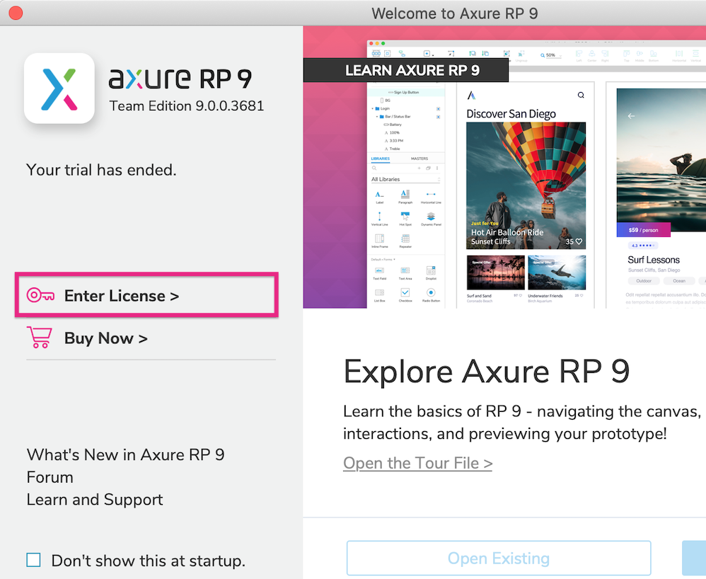 Activating Axure RP · Axure Docs