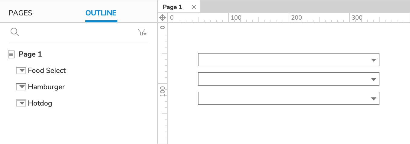 Dynamically Set Droplist Options Tutorial · Axure Docs