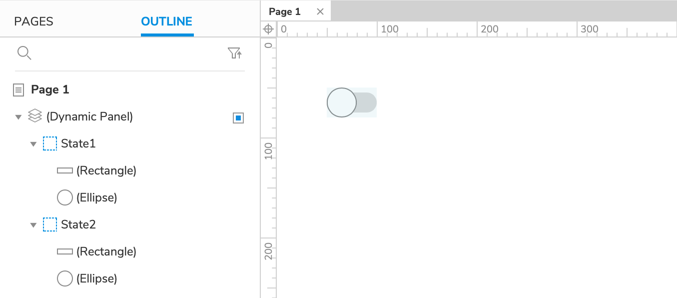 Toggle Switch Tutorial · Axure Docs