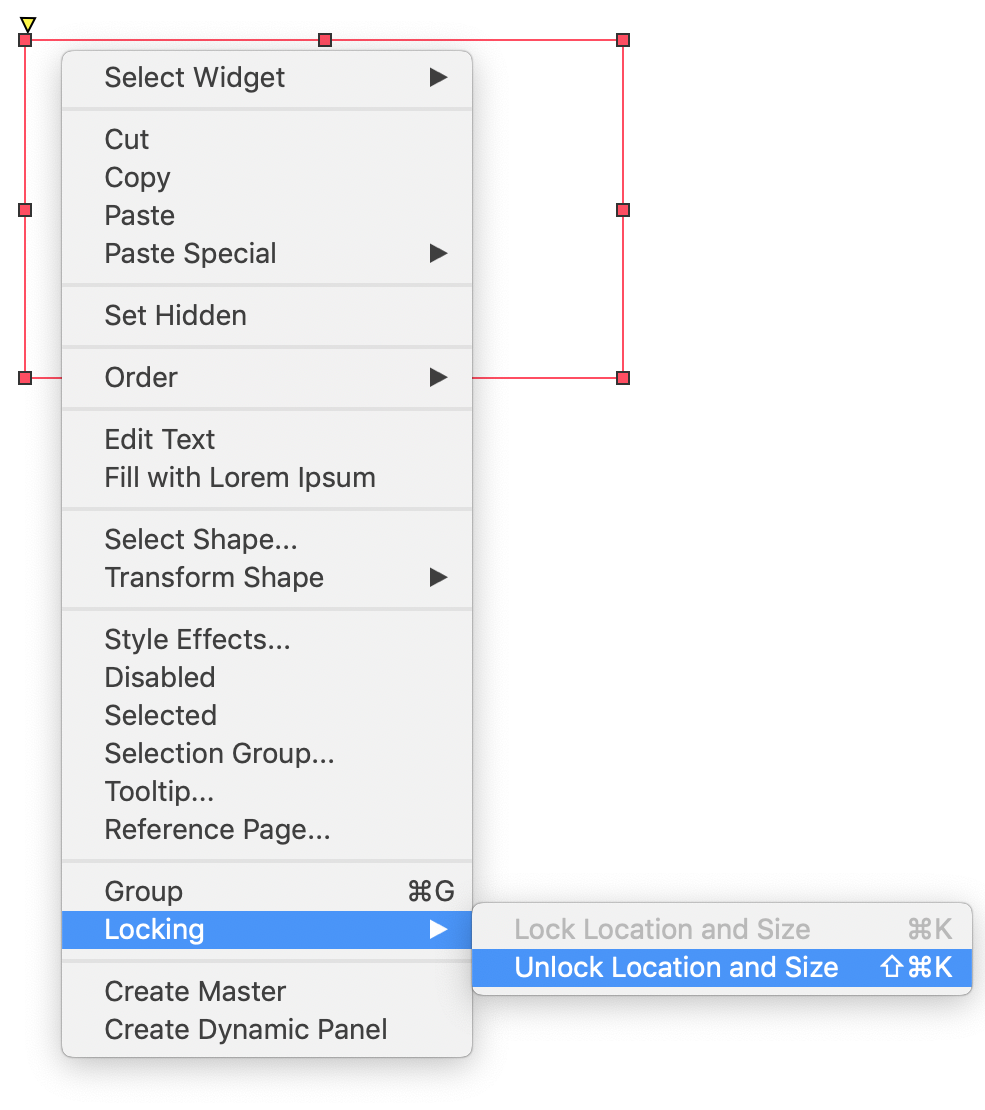 Organizing Widgets · Axure Docs